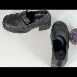 Bakers Women's Loafer Shoes Slip On Black Size 8 M